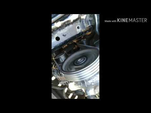 Peugeot 406 1.9 td замена ремня генератора в обход компрессора кондиционера