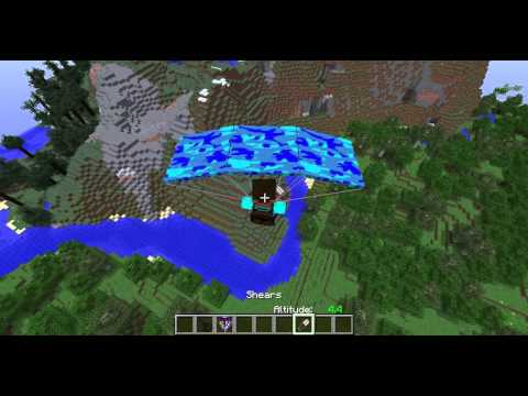 Minecraft Paraşüt Modu Tanıtımı