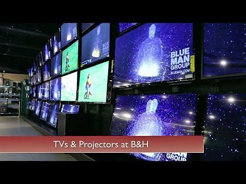 TVs & Projectors at B&H