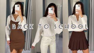 BACK TO SCHOOL 2021 Shopping Vlog Собираем образы на осень 2021 H M