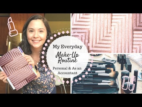 Everyday Make Up Rountine | In the Office & At Home |
