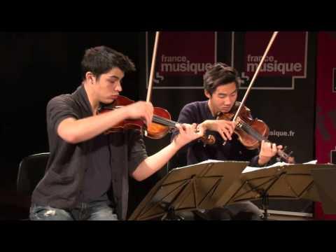 Carl Nielsen : Quatuor à cordes n°1 Opus 13 par le Quatuor Arod