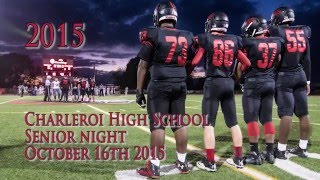 2015 Charleroi High School Senior Night