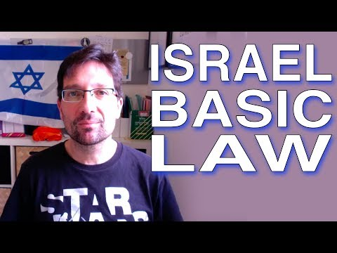 Basic Law Israel as the Nation State of the Jewish People by Brian