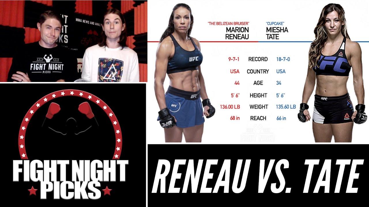 UFC Vegas 31 odds: Marion Reneau vs Miesha Tate prediction and ...