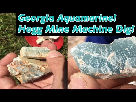 Lies! The truth And Real Georgia Aquamarine  Beryl (Mining America Ep 31 ) Aug 2017