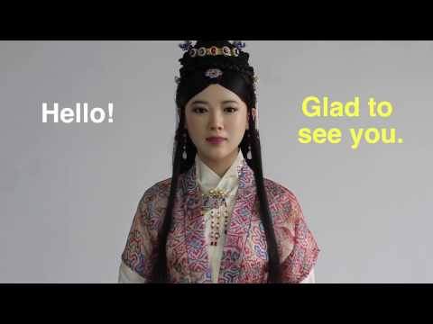 Beautiful & smart! Chinese humanoid robot Jiajia says hi