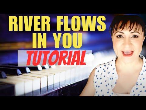 River Flows In You (Yiruma) 이루마 Piano Tutorial