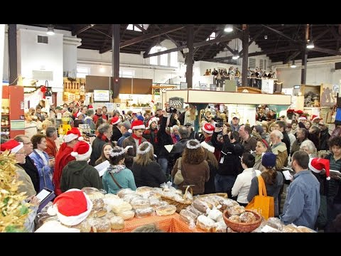 """Hallelujah Chorus"" flash mob at Central Market in Lancaster"