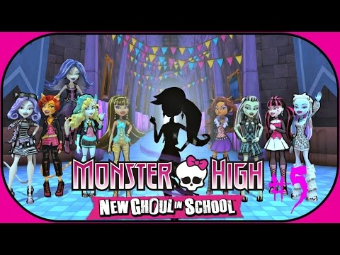 ♡ Monster High New Ghoul in School ♡ Attended Council Meeting & Talk to Students Walkthrough #5