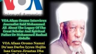 VOA Afaan Oromo Namni Du'aan Darbu Iyyuu Hojiin isaa Garuu Jiraataa Dha Dr Shek Muhammad Rashad