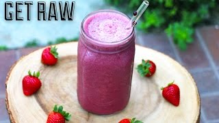 Get Raw-red Grape Breakfast Smoothie