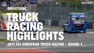 HIGHLIGHTS: the 1st round of the 2017 FIA European Truck Racing Championship