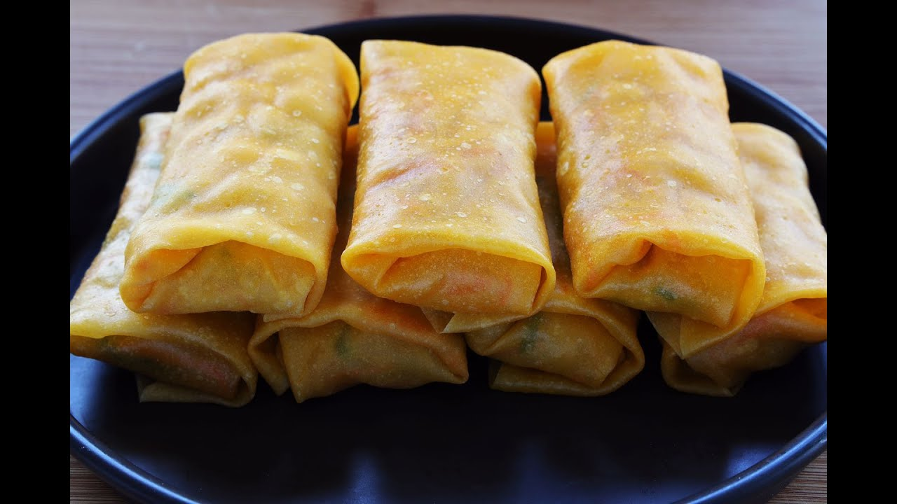 """【卷餅】南瓜土豆絲卷餅,""""蒸""""的不上火,比手抓餅健康又簡單!"""