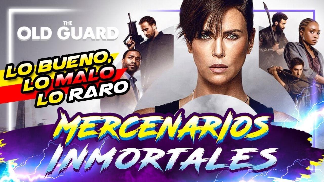 Netflix presenta acción pura: OLD GUARD #Estrenos