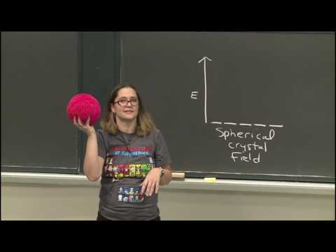 28. Transition Metals: Crystal Field Theory Part I