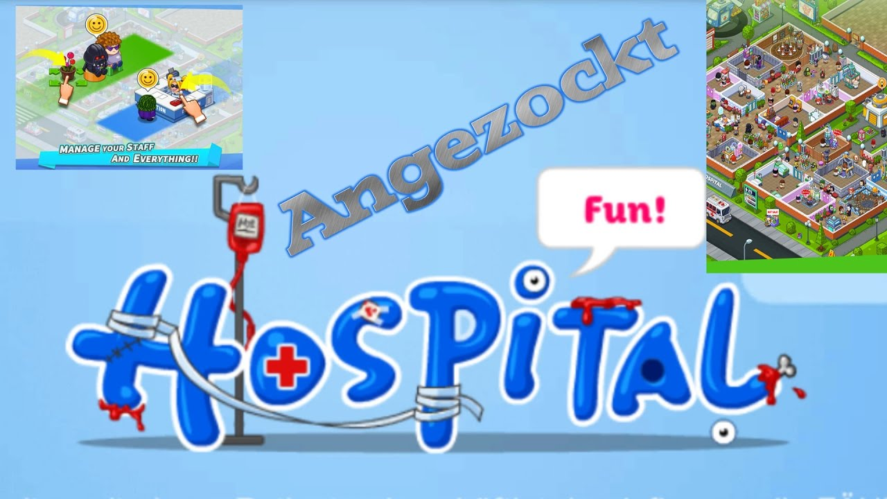 Fun Hospital☆Angezockt ☆ HD ☆ Deutsch ☆ Let\'s Play ☆ - YouTube