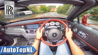 ROLLS ROYCE DAWN - Black Badge - 600HP 6.6 V12 POV Test Drive by AutoTopNL