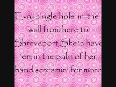 Reba McEntire~Pink Guitar Lyrics