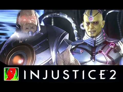 Injustice 2 - Darkseid Vs The Society all Intro Dialogues