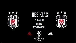 Beşiktaş 3.Yıldız Forma Tasarımları