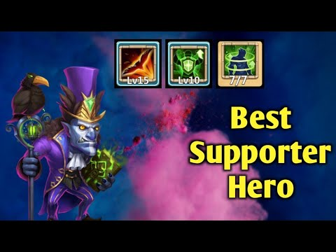 Walla Walla | Best Supporter Hero Of Castle Clash😎😎 | Fully Maxed | Full Dodge | Castle Clash
