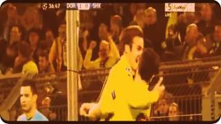 Borussia Dortmund vs Szachtar Donieck 3-0 05.03.13 CL 1/8 all goals