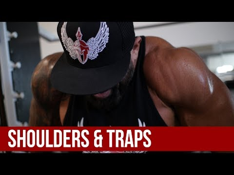Shoulders and traps | Train with the Body Spartans