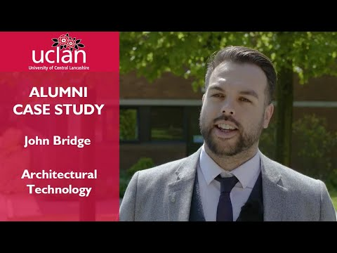 Alumni case study - John Bridge (Architectural Technology)