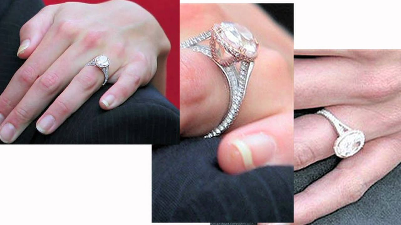 Top Celebrity Engagement Rings - YouTube