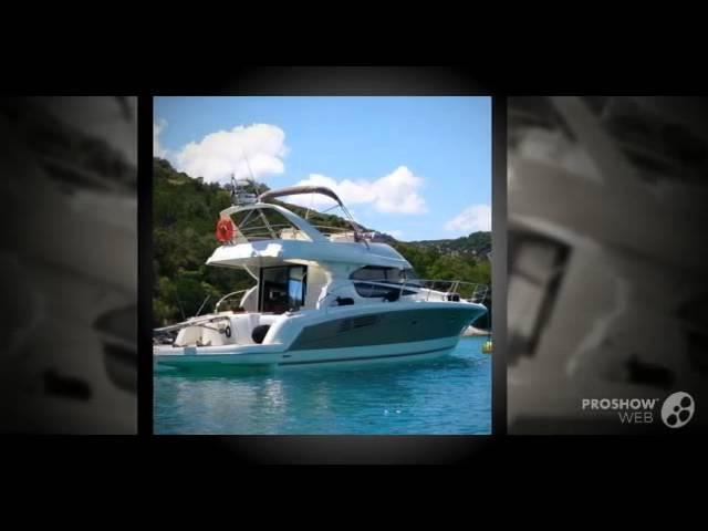 Jeanneau prestige 440 power boat, flybridge yacht year - 2011