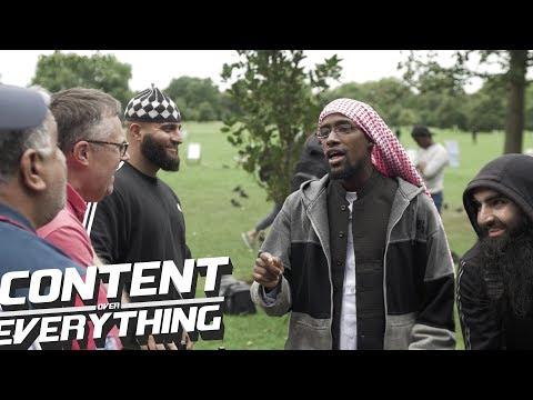 Steve (Atheist) Asserts That Zakariya Is Vulnerable. Abu Talha Opposes Steve | Speakers Corner