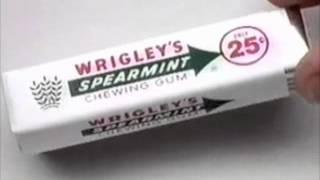 Wrigley's Spearmint Gum commercial - 1994