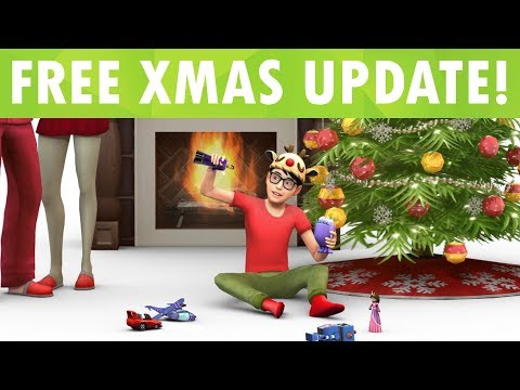 FREE NEW UPDATE! The Sims 4 Christmas Items! thumbnail