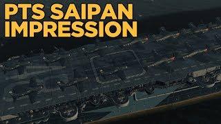 PTS 0.8.0 Saipan Impression - World of Warships
