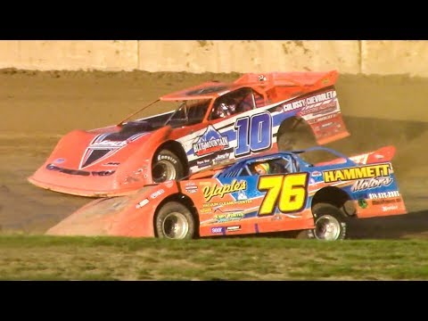 Super Late Model Heat One | Eriez Speedway | 9-23-18