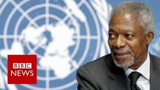 Kofi Annan Death: Former UN chief dies at 80 - BBC News