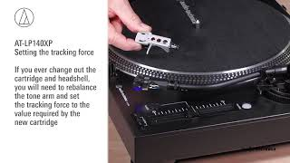 AT-LP140XP Setup | Direct-Drive Professional DJ Turntable