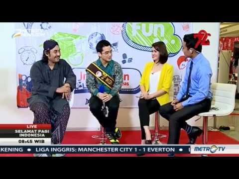 Wawancara Michael Gilbert di Selamat Pagi indonesia di Metro TV
