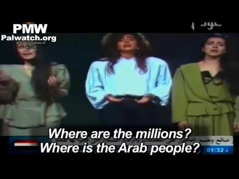 Fatah-run TV broadcasts song famous for motivating Palestinians to engage in intifada against Israel