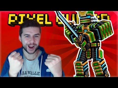 THE ROBOT SAMURAI IS DEADLY! EPIC KILL-STREAKS | Pixel Gun 3D