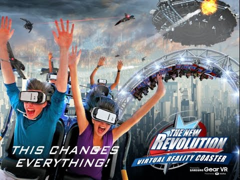 New Revolution at Six Flags
