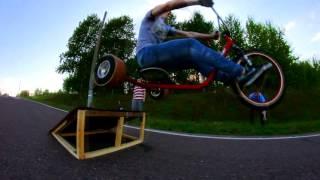 Drift Trike JUMP   Первый прыжок в России на Дрифт трайке! #TORNADOTRIKES