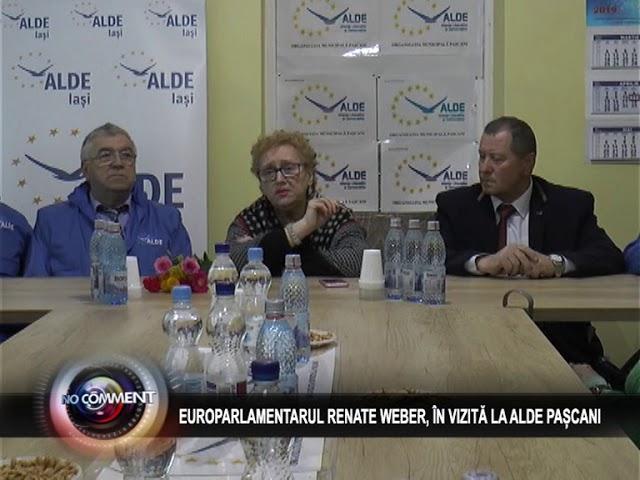 EUROPARLAMENTARUL RENATE WEBER, ÎN VIZITĂ LA ALDE PAȘCANI