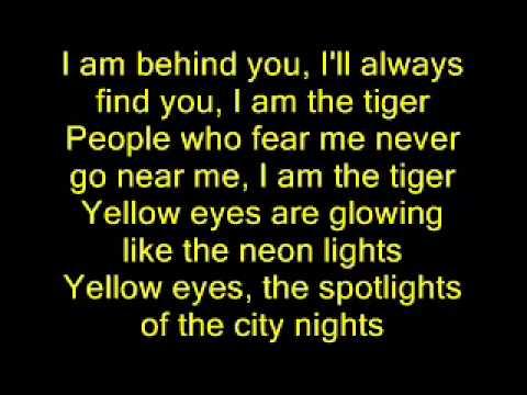 Abba - Tiger - Lyrics
