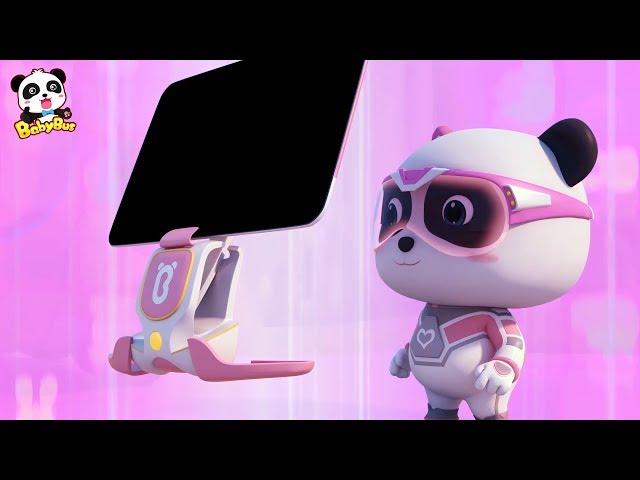 Super Panda's Cool Scanning Computer | Super Panda Rescue Team Compilation | BabyBus