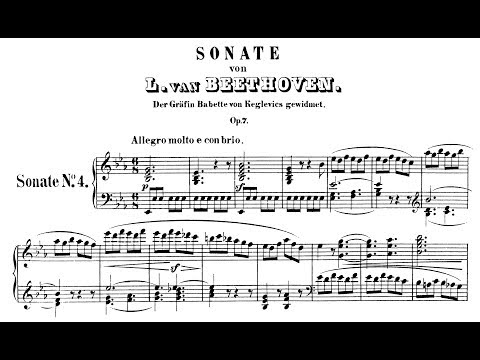 Beethoven: Sonata No.4 in Eb Major, Op.7 (Korstick, Lewis)