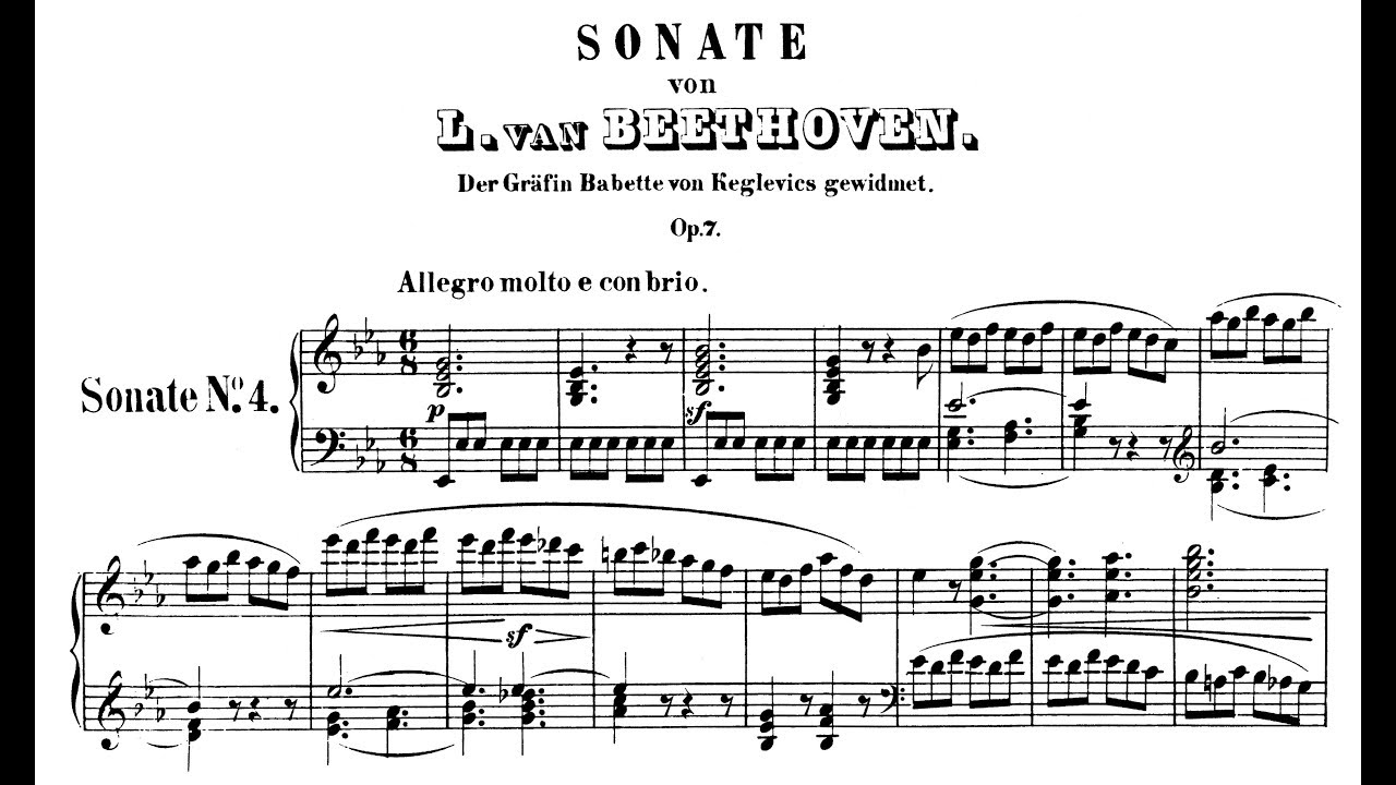 beethoven piano sonata in c minor op 13 movement 3 Download solo guitar sheet music to piano sonata no 8, op 13 ludwig van beethoven piano sonata no 14 in c# minor symphony no 5 in c minor, first movement.