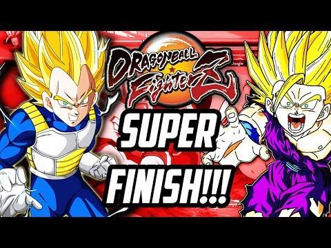 DRAGON BALL FIGHTERZ KAMEHAMEHA VS FINAL FLASH SUPER VS SUPER FINISH!!!
