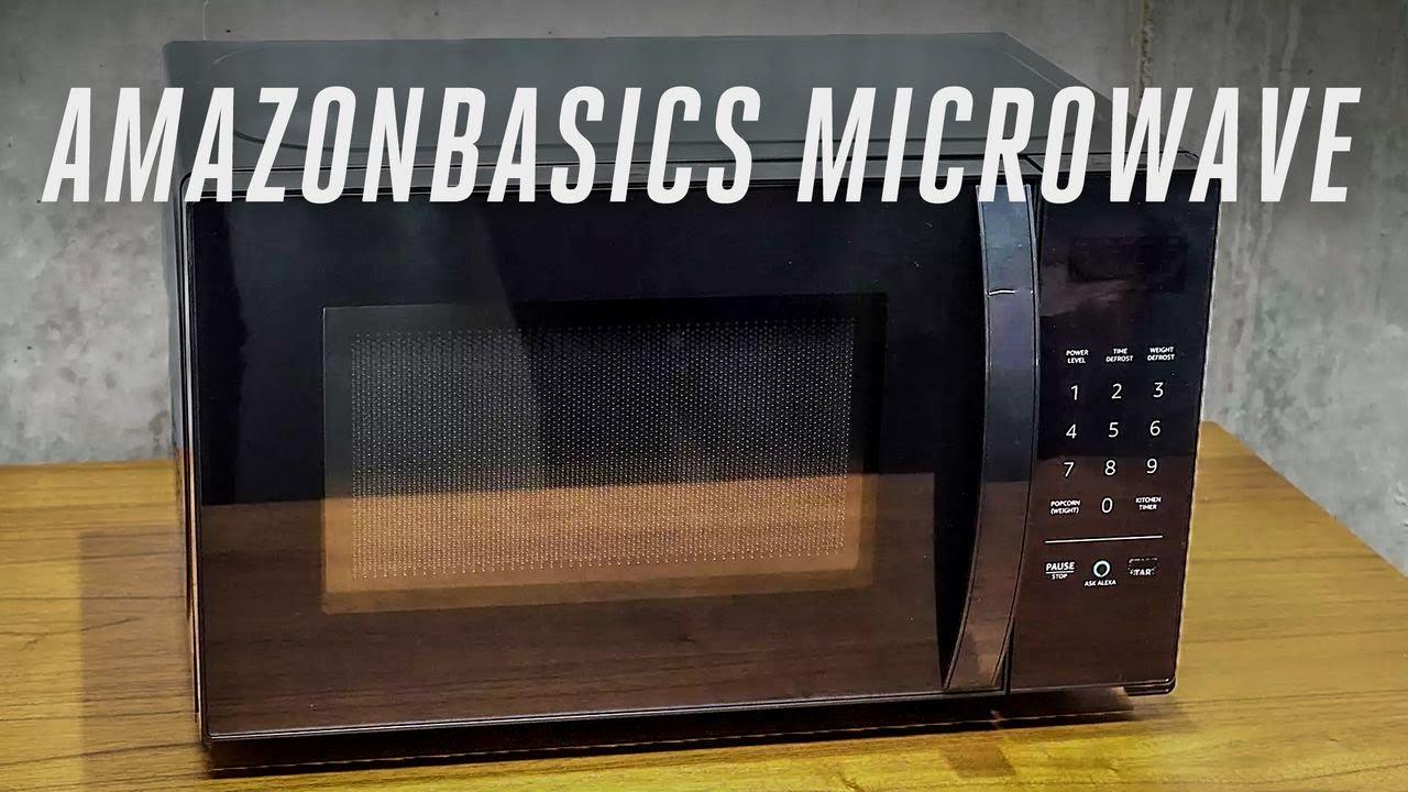 Amazon Alexa Powered Microwave Hands On Youtube